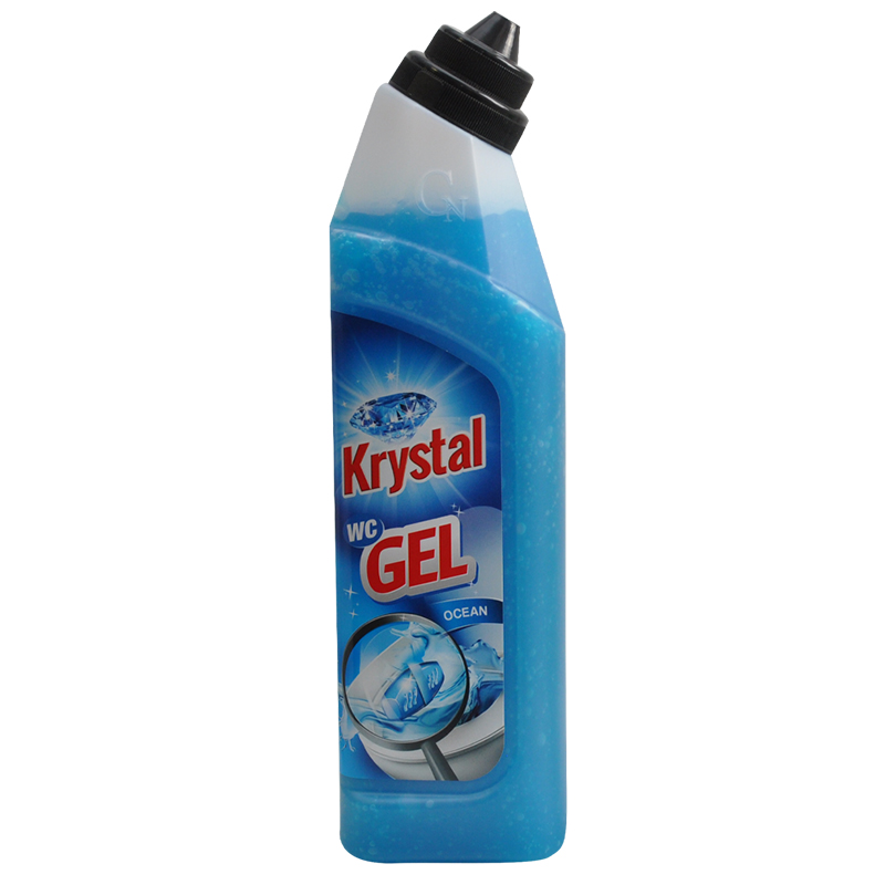 KRYSTAL WC gel modrý 750 ml