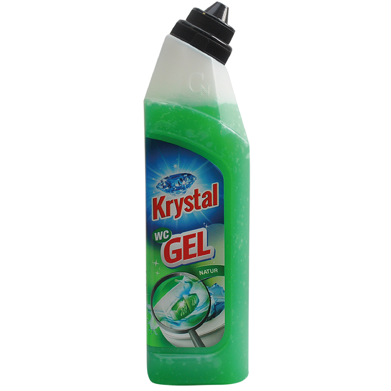 KRYSTAL WC gel zelený 750 ml