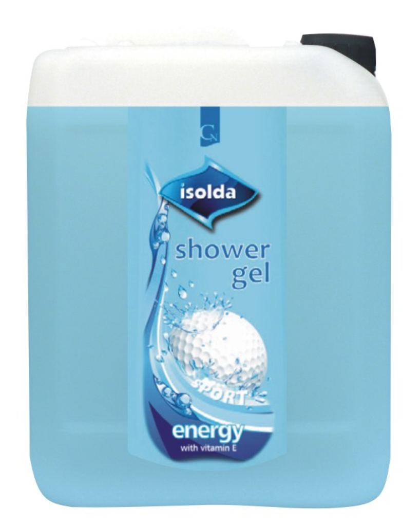 ISOLDA Energy shower gel s vitaminem E 5 l