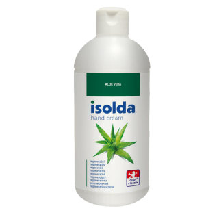 ISOLDA Aloe s panthenolem 500 ml